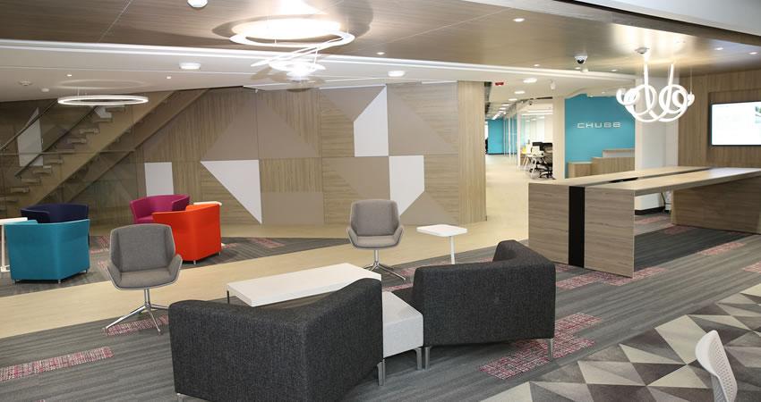 Chubb Seguros Colombia S.A. presenta su nueva oficina en el corazón financiero de Bogotá